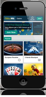 ウィリアムヒルカジノクラブ スマホ オンラインカジノ プレイテック系カジノ