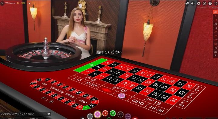ライブカジノ ルーレット ルール オンラインカジノ